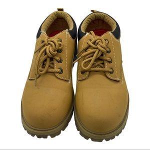 Wrangler Work Boots Camel Size 7